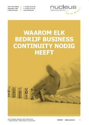 Nucleus - Ebook - Business Continuity