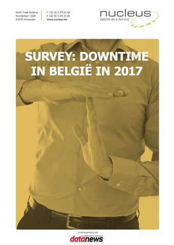 Cover Ebook over downtime in België